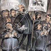 Grant Cartoon, 1880 Art Print