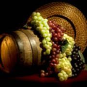 Grapes Of Wine Art Print