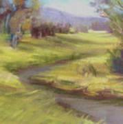 Grassy Meadow Art Print