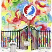 Grateful Dead Concert In Heaven Art Print