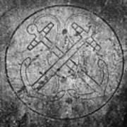 Grave Of Cadet Soady Macroom Ireland Art Print