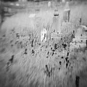 Graveyard 6793 Art Print