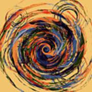 Gravity In Color Art Print