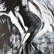 Gray Desert Art Print