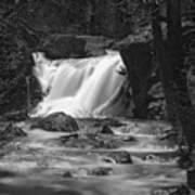 Gray Eagle Falls Art Print