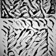 Gray Mind  Thinking  Art Print