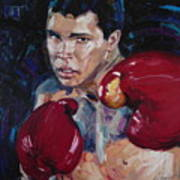 Great Ali Art Print