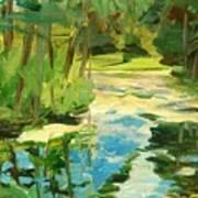 Great Brook Farm Canoe Launch Art Print