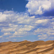Great Colorado Sand Dunes Mixed View Art Print