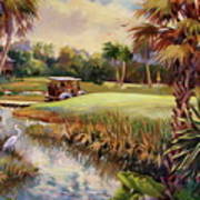 Great Day For Golf Art Print