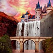 Great Falls Castle Art Print