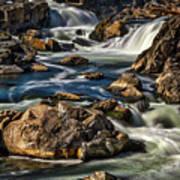 Great Falls Overlook #5 Art Print