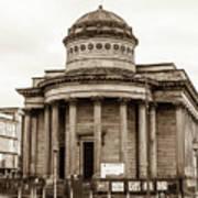 Great George Street Congregational Church Liverpool Art Print