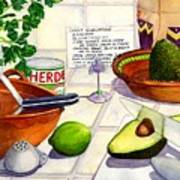 Great Guac. Art Print