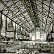 Great Market Hall Art Print