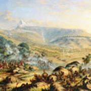 Great Peak Of The Amatola-british-kaffraria  Art Print