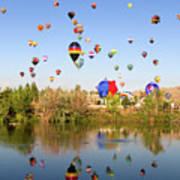 Great Reno Balloon Races Art Print