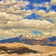 Great Sand Dunes National Monument Art Print by James BO  Insogna