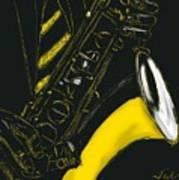 Great Sax Art Print
