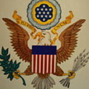 Great Seal Of The United States Of America Art Print