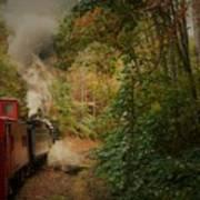 Great Smokey Mountain Railroad Art Print