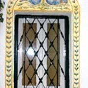 Greece Decorative Window Art Print