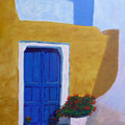 Greece Painting  Art Print