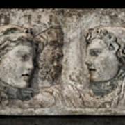 Greek Furneral Box Art Print