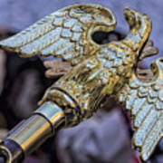 Greek Independence Day 4_10_16 Brass Eagle Art Print