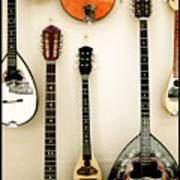 Greek Instruments Art Print