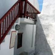 Greek Staircase Art Print