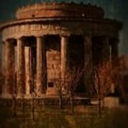Greek Temple Monument War Memorial Art Print