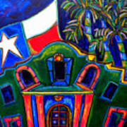 Green Alamo Art Print