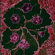 Green And Purple  Art Print