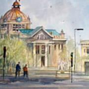 Green Bay Courthouse Art Print