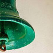 Green Bell Art Print