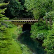 Green Bridge Art Print