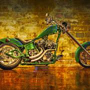 Green Chopper Art Print