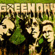 Green Day Art Print