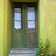 Green House Art Print by Gabriela Insuratelu