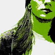 Green Is In Art Print