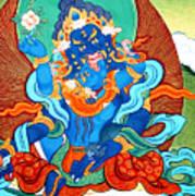 Green Jambhala 3 Art Print