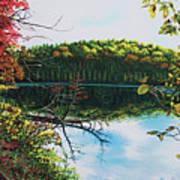 Green Lakes Art Print