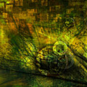Green Lantern Art Print by Monroe Snook