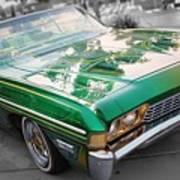 Green Low Rider Art Print