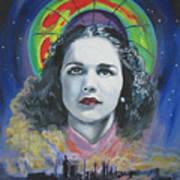 Green Madonna Art Print