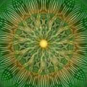 Green No2 Art Print