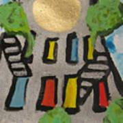 Green Ny Art Print