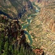 Green River Carving Canyon Art Print