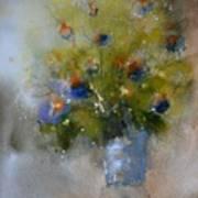 Green Still Life  Art Print